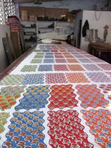 Cotton Block Printing