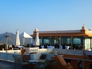 Fathehprakash Palace Restaurant View