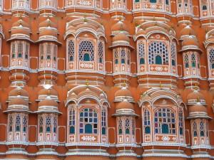 Jaipur Pink Palace Detail